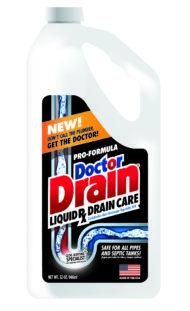 DoctorDrain label